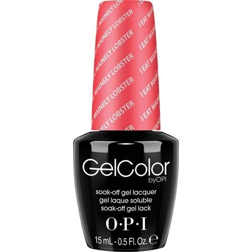 O.P.I. OPI Gel Color Soak-Off Gel Lack GC T30 I Eat Mainely Lobster