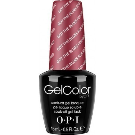 O.P.I. OPI Gel Color Soak-Off Gel Lack GC W52 Got The Blues For Red