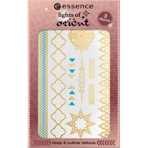 Essence Lights Of Orient Body & Cuticle Tattoos 01 Magic Carpet Ride