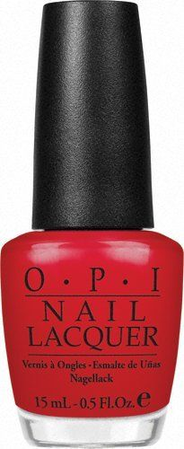 O.P.I OPI NL Z13 Color So Hot It Berns