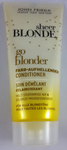 John Frieda Sheer Blonde Go Blonder Farb-Aufhellender Conditioner 50ml