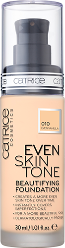 Catrice Even Skin Tone Beautifying Foundation 010 Even Vanilla 30ml