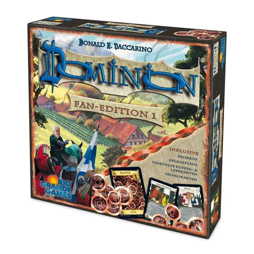 Rio Grande Games 22501420 Dominion Fan Edition 1