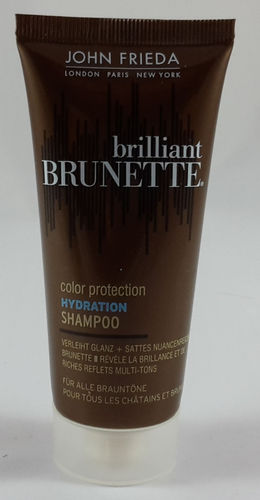 John Frieda Brilliant Brunette Color Protection Hydration Shampoo 50ml