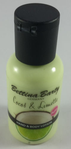 Bettina Barty Hand & Body Lotion Cocos & Limette 50ml