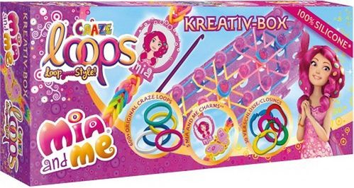 Craze Loops Mia And Me Kreativ-Box 635 Teile
