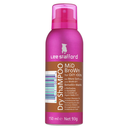Lee Stafford Mid Brown Trockenshampoo 150ml