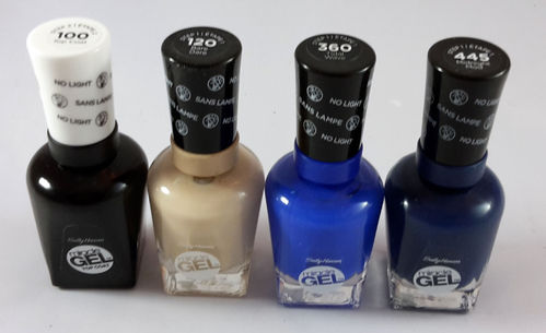 Sally Hansen Miracle Gel 4-teiliges Nagellack-Sparset 01 58,8ml