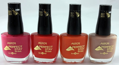 Astor Perfect Stay Gel Shine Nagellack Sparset 48ml