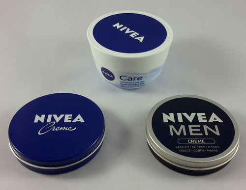 3er Set Nivea Creme Minis - Cremes To Go 110ml