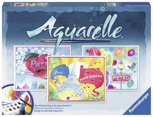 Ravensburger 29487 Aquarelle Malset Paris