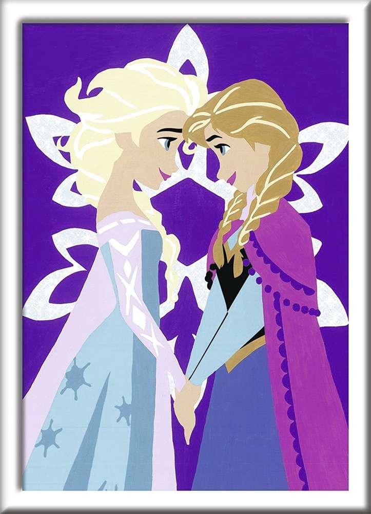 Ravensburger 27994 Malen Nach Zahlen Disney Frozen Winter Magic