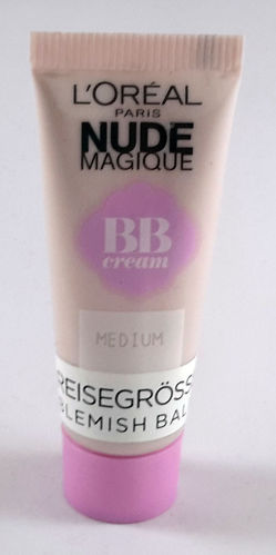 L'Oreal Make-Up Reisegröße 10ml Nude Magique BB Cream Medium