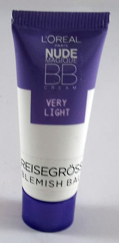 L'Oreal Make-Up Reisegröße 10ml Nude Magique BB Cream Very Light