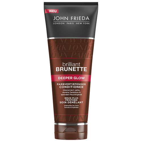 John Frieda Brilliant Brunette Deeper Glow farbvertiefender Conditioner 250ml