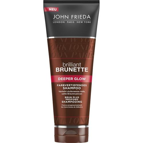 John Frieda Brilliant Brunette Deeper Glow farbvertiefendes Shampoo 50ml