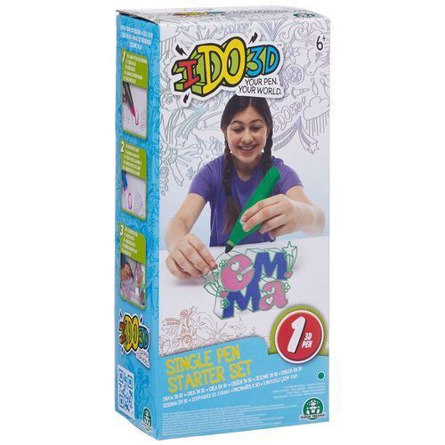 Giochi Preziosi IDO3D Single Pen Starter Set grün