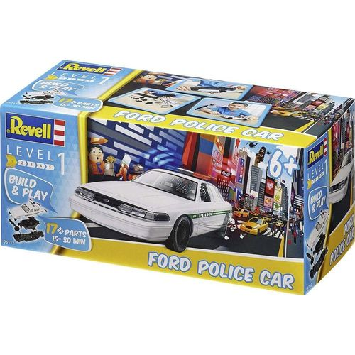 Revell 06112 Build & Play Ford Polizeiauto Maßstab 1:25