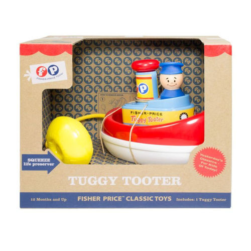 Fisher-Price 33639 Fischerboot Tuggy Tooter