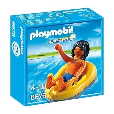 Playmobil Summer Fun 6676 Rafting Reifen
