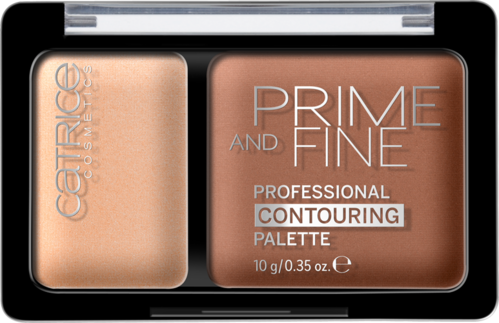 Catrice Prime and Fine Professional Contouring Palette 020 Warm Harmony 10g