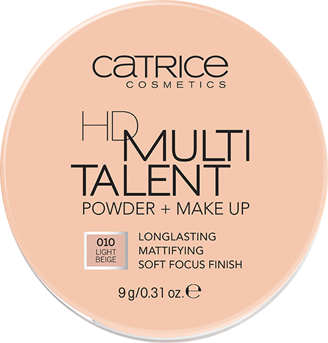Catrice HD Multi Talent Powder + Make up 010 Light Beige 9g