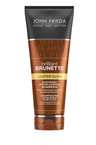 John Frieda Brilliant Brunette Lighter Glow Shampoo 50ml