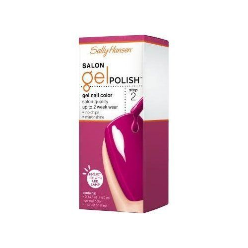 Sally Hansen Salon Gel Polish 245 Cherry, cherry bang!