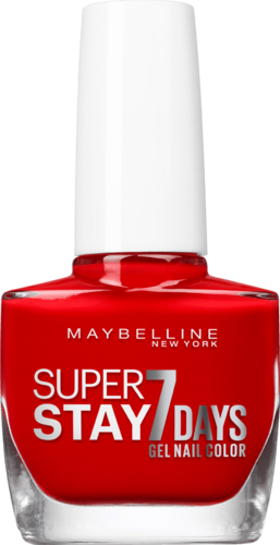 Maybelline Super Stay 7Days Nagellack 08 Passionate Red