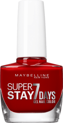 Maybelline Super Stay 7Days Nagellack 06 Deep Red