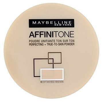 Maybelline Affinitone True-To-Skin Perfecting Powder 03 Light Sand Beige 9g