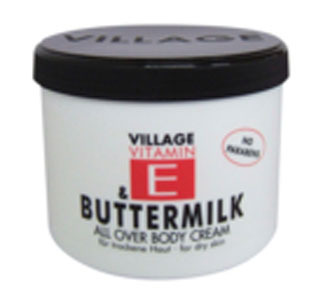 Village Vitamin E & Buttermilk 75ml mit Cocos
