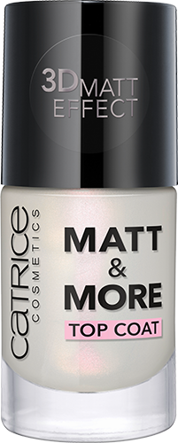 Catrice Matt & More Top Coat 10ml
