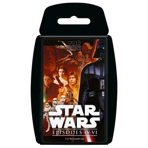Top Trumps 13736 Sammelkartenspiel, Star Wars Episode 4 – 6