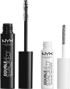 NYX Wimperntusche Double Stacked Fiber Mascara