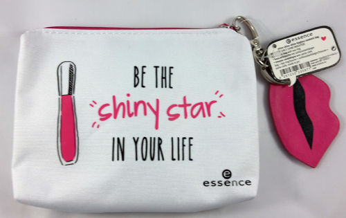 Essence Shine Shine Shine Lipgloss Cosmetic Bag 01 Happy Girls Shine Brighter!