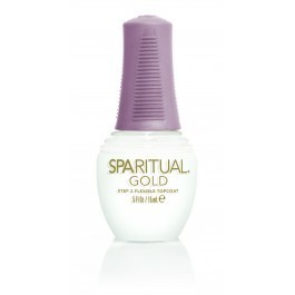 SpaRitual Gold Step 2 Flexible TopCoat 15ml