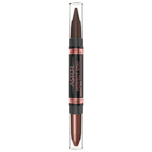 Astor Perfect Stay Smokey Duo Eyeshadow / Eyeliner Pen 130 Smokey Brown