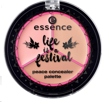 Essence Life is a Festival Peace Concealer Palette 01 A Piece of Peace