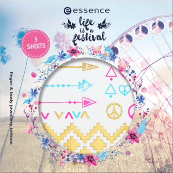 Essence Life is a Festival Finger & Body Jewellery Tattoos 01 Wild Heart, Gypsy Soul