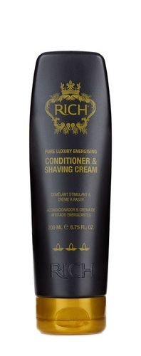 Rich Enjoy Luxurious Hair Conditioner & Shaving Cream 200ml