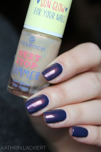 Essence Next Stop Summer Sun Glow Top Coat 01 Be someone's sunshine today! 8ml