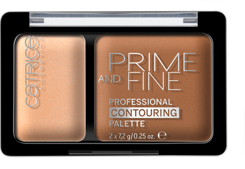 Catrice Prime And Fine Professional Contouring Palette 030 Sunny Sympathy 10g