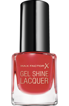 Max Factor Nagellack Gel Shine Lacquer 25 Patent Poppy 4,5ml