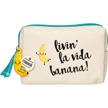Essence Cubanita Cosmetic Bag 01 La Banana Cubana