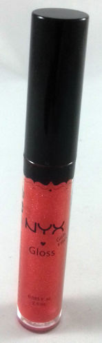 NYX Girls Round Lipgloss RLG18 Frosted Red