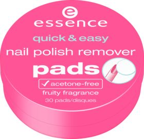 Essence Quick & Easy Nail Polish Remover Pads 30 Stück