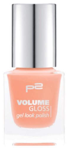 P2 Volume Gloss Gel Look Polish 730 Caramel Coder