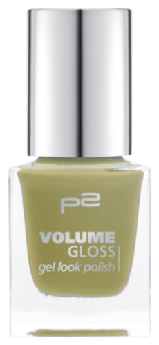 P2 Volume Gloss Gel Look Polish 800 Leaf Horder