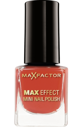 Max Factor Max Effect Mini Nail Lacquer 11 Red Carpet Glam 4,5ml